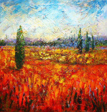 Tuscan Tapestry – Maureen Greenwood